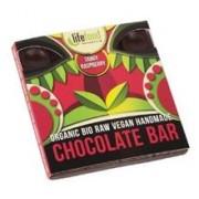 Ciocolata cu Zmeura Raw Bio Lifefood 35gr