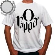 Camiseta O Rappa Logo Preto