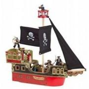Figurina Papo Corabia piratilor rosie