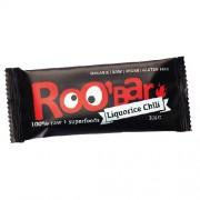 Baton Raw Bio cu Chilli si Lemn Dulce 30gr Roobar