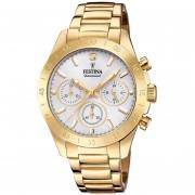 Reloj F20400/1 Dorado Festina Mujer Boyfriend Collection Festina