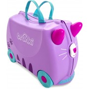 Trunki Cassie The Cat Resväska 18L, Purple