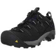 Keen Utility Atlanta Zapatillas de trabajo para hombre (acero), Negro, 15 EE US