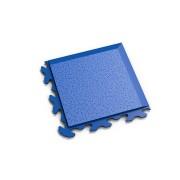"Modrý vinylový plastový rohový nájezd ""typ B"" Invisible 2037 (hadí kůže), Fortelock - délka 14,5 cm, šířka 14,5 cm a výška 0,67 cm"