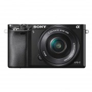 Sony Alpha A6000 ICL systeemcamera Zwart + 16-50mm OSS (ILCE6000LB.CEC)