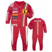 Car racing baby grow babygrow red