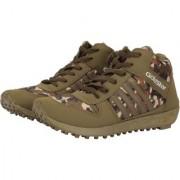 Goldstar Khaki Brown Boot Mens Running shoes