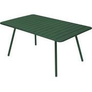 Fermob Table rectangulaire Luxembourg / 6 à 8 personnes - 165 x 100 cm - Fermob cèdre en métal