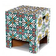 Dutch Design Brand Dutch Design Chair krukje Portugese Tiles