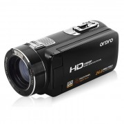 """Camara de video digital ordro HDV-Z8 PLUS con pantalla TFT tactil de 3"""" - negro"""