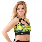 Gorilla Wear Reno Sports Bra - Yellow - M