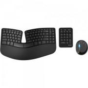 Клавиатура и Мишка и Number Pad Microsoft Sculpt Ergonomic Desktop USB Port English - L5V-00021