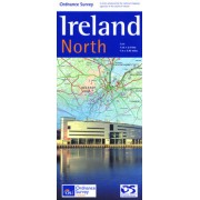 Wegenkaart - landkaart Ireland North ( Ierland ) | Ordnance Survey