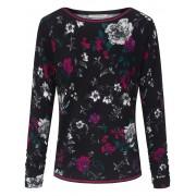 Betty Barclay Rundhals-Pullover attraktivem Blüten-Print Betty Barclay mehrfarbig