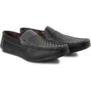 Andrew Scott Crusoe Loafers(Black)