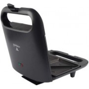 Frendz Forever Sandwich Toaster 700W (ST-038) with high Quality Open Grill(Black)