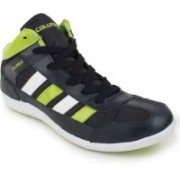 Columbus Lucky-7 Casual Shoes(Black, Green)