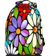 Sleevy laptop rugzak 15,6 Deluxe bloemen