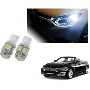 Auto Addict Car T10 5 SMD Headlight LED Bulb for Headlights Parking Light Number Plate Light Indicator Light For BMW 4 Series