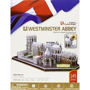 Westminster Abbey 3D Puzzle with Book 145-Piece