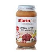 AFARIN PLUS JAMON-TERNERA C/VERDU 250 G.