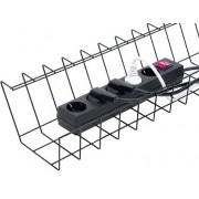 JM Cable Basket Tray Maxi. Kabelkorg Svart. Styckpack