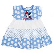 Rochie bebe albastra Minnie9818