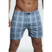 Cornette 42 nagyméretű férfi boxeralsó, kék S