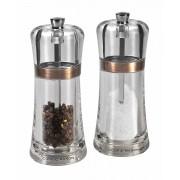 Комплект мелнички за сол и пипер COLE & MASON FONTWELL цвят мед - 14 см