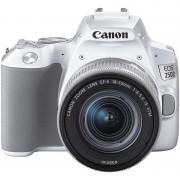 Canon 250D 24MP WiFi Branca + Objetiva EF-S 18-55mm F4-5.6 IS STM