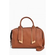 Womens Next Bowler Bag - Tan