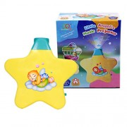 BabyGo Musical Children Star Music Projector for Babies