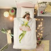 Snurk dekbedovertrek Fairy-1-persoons 140 x 220 cm incl. kussensloop 60 x 70 cm