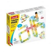 Joc creativ pentru copii Quercetti Tubation Maze, 44 piese