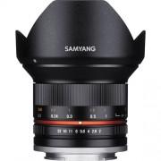 Samyang Obiectiv Foto Mirrorless 12mm F2.0 NCS CS Montura Fujifilm X Negru
