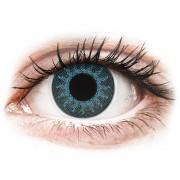 Solar Blue contact lenses - power - ColourVue Crazy