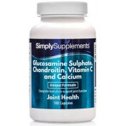 Simply Supplements Glucosamine-chondroitin-vit-c-calcium