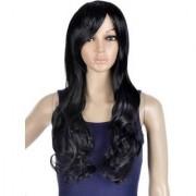 NERR black curly Long Hair Wig hair wig