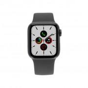 Apple Watch Series 5 Aluminiumgehäuse grau 40mm mit Sportarmband schwarz (GPS+Cellular)