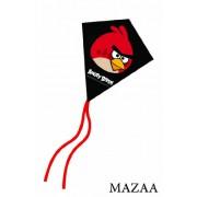 """Angry Birds Red Bird Mini Poly Diamond Kite 7.5"""""""