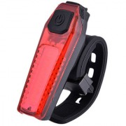 Futaba Mountain Cycling Bike Taillights USB Charging Warning Light - Red