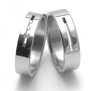 Snubní ocelové prsteny ZERO Collection rz06010+rz86010