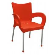 Baštenska stolica Smart, crvena