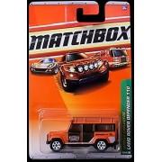 2010 Matchbox Jungle Explorers 100 Of 100 Orange Land Rover Defender 110
