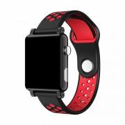 B71 Smart Bracelet 1.3inch IPS Screen Waterproof Smart Watch PPG+ECG Heart Rate Monitor - Black/Red