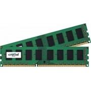 Crucial 16 GB DDR3-RAM - 1866MHz - (CT2K102464BD186D) Crucial LV Kit CL12