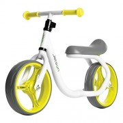 Ride Jetson Jetson Green / Yellow Gravity Balance Bike Kid Ride-On Push - Bonus Free Stickers to Customize Look - Child Training Bike Ages 2 to 5 Years - Simple Fun No Pedal Easy Assembly