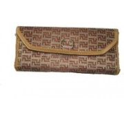 RK Brands Cosmetic Pouch(Brown)