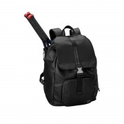 Wilson Womens Fold Over Backpack Black