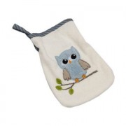 Bebes Collection Be Be 's Collection Washandje Uilen blauw